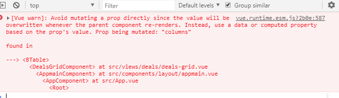 Table: Columns not updating correctly when passing new