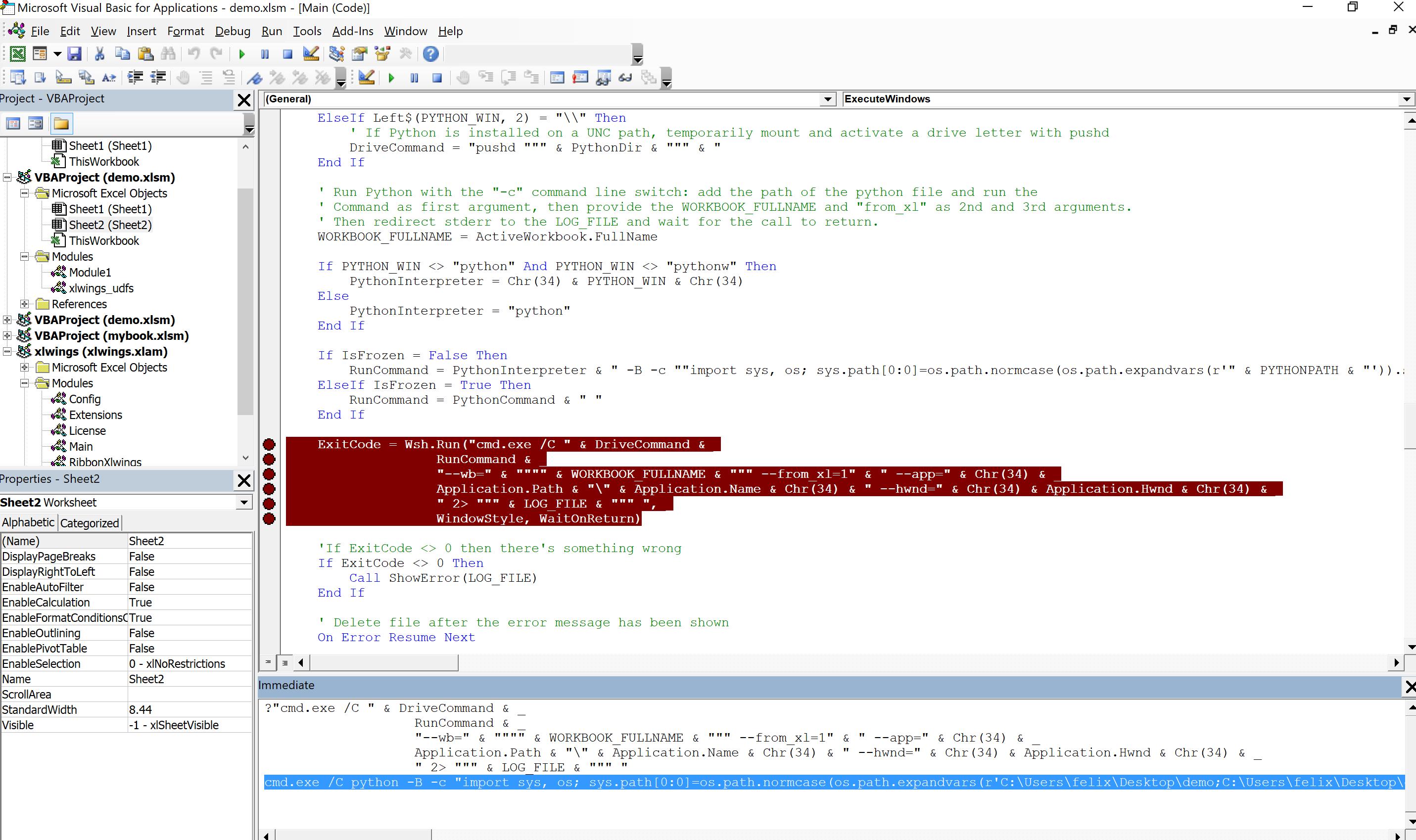 RunPython raises 'error 20, permission denied' · Issue 20 ...