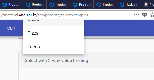 Select] Scrolling causes options to scroll away · Issue #8924
