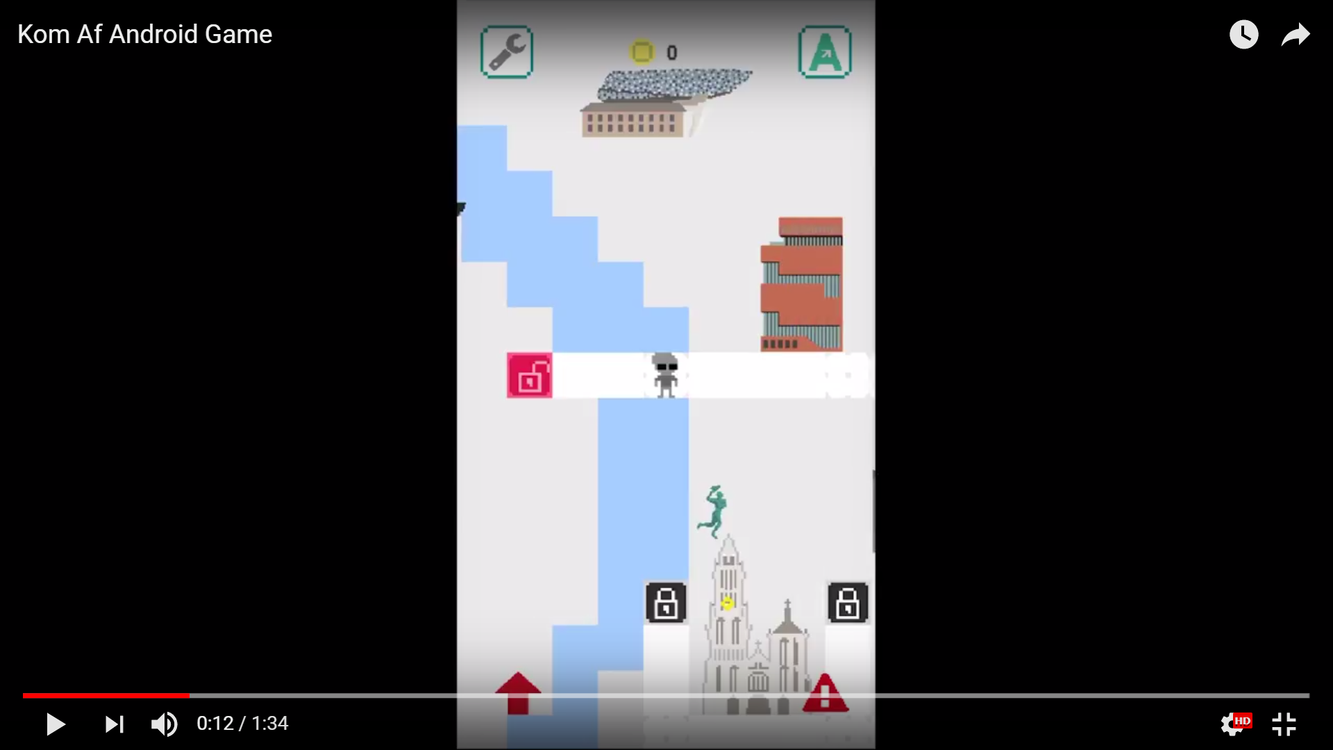 Screenshot from the gameplay video of KomAf