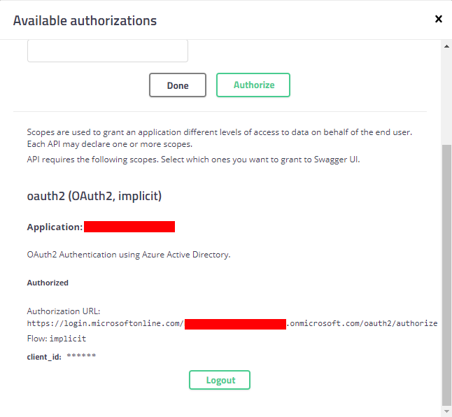 2 0 0 Authorization Token not being sent in Headers · Issue #603