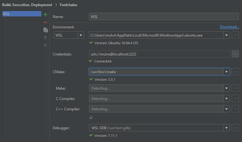 Can't use WSL make · Issue #73 · kropp/intellij-makefile · GitHub