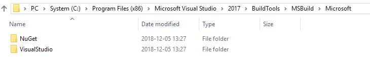 C:\Program Files (x86)\Microsoft Visual Studio\2017