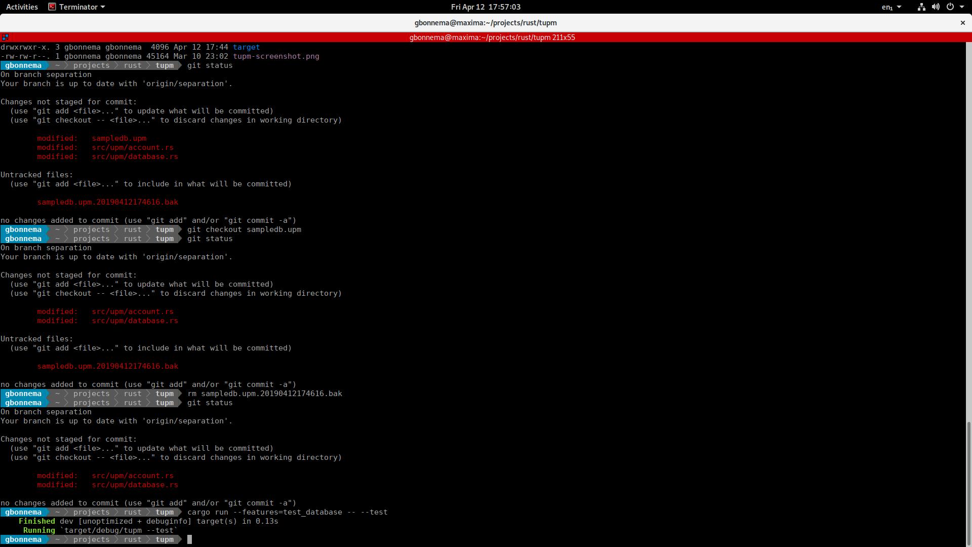 bug/terminator feature] cursive input ending up in 2x vi in