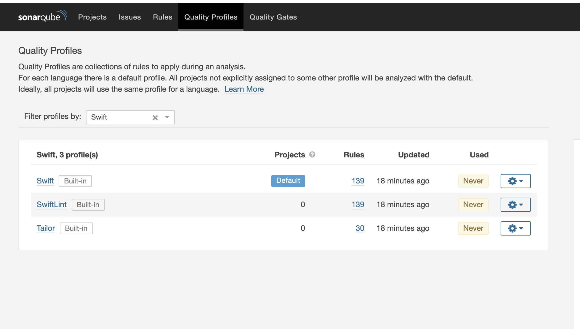 How to use Sonarqube in Swift projects · Issue #216
