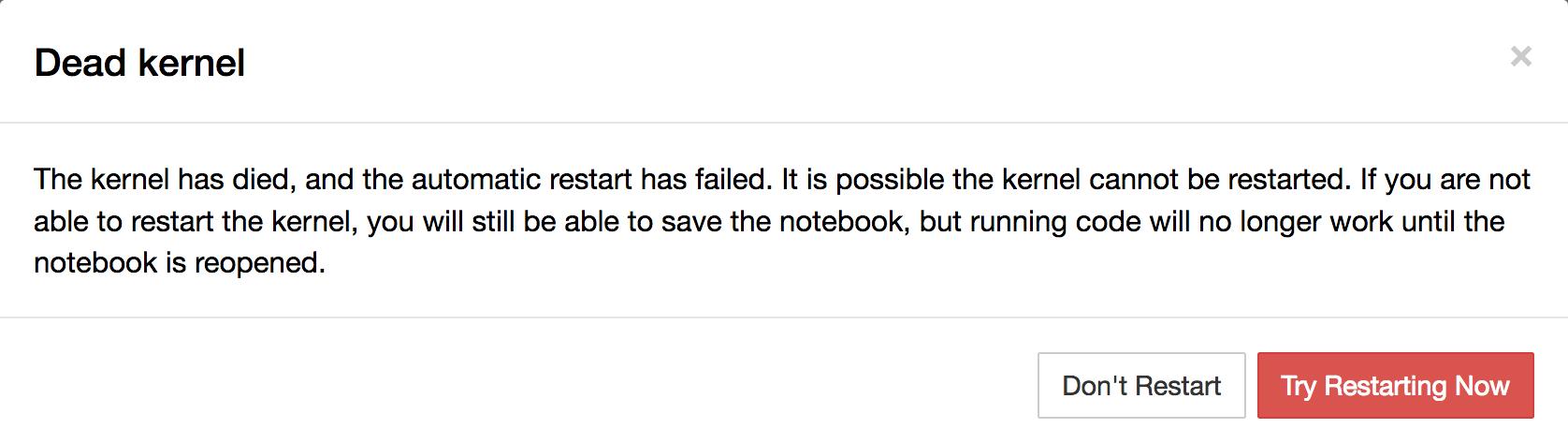 Developers - R kernel in Jupyter keeps dying -
