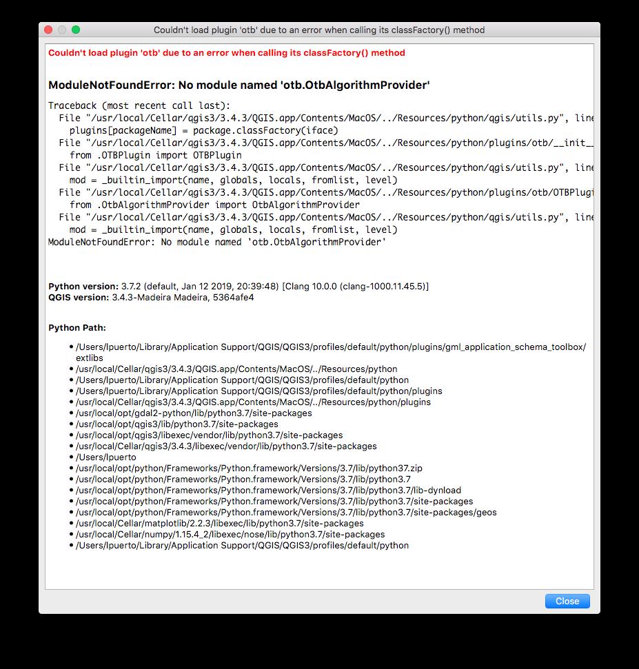 brew install osgeo/osgeo4mac/qgis3 fails on macOSX