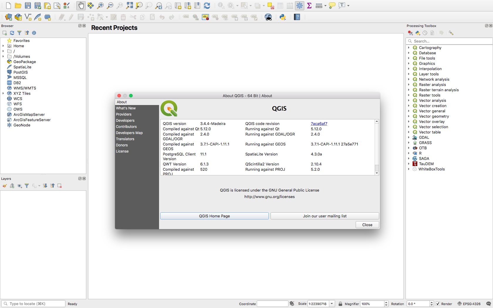 New QGIS formula with LASTools, Whitebox, TauDEM, Six and