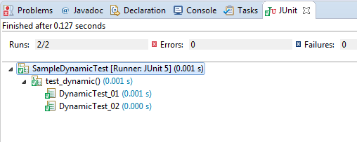 Surefire provider reports @TestFactory method name with invocation