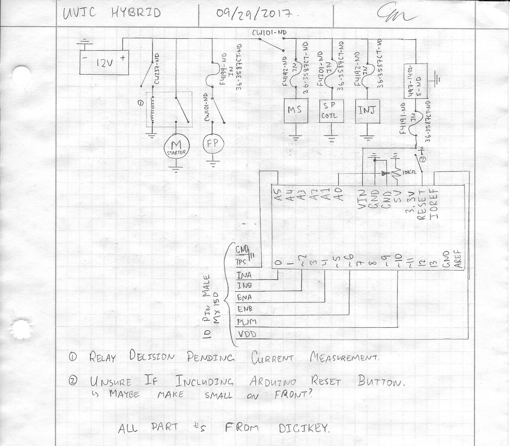 Switchboard Design Issue 23 Uvicfh Home Github Electrical Schematic Digikey Ive Also Attached My Parts List