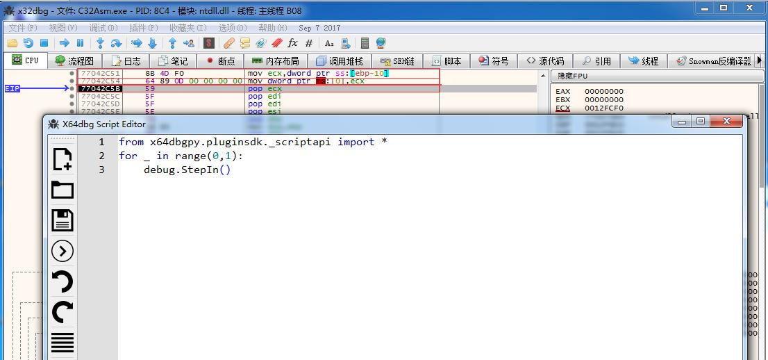 x64dbgpy plugin error · Issue #1718 · x64dbg/x64dbg · GitHub
