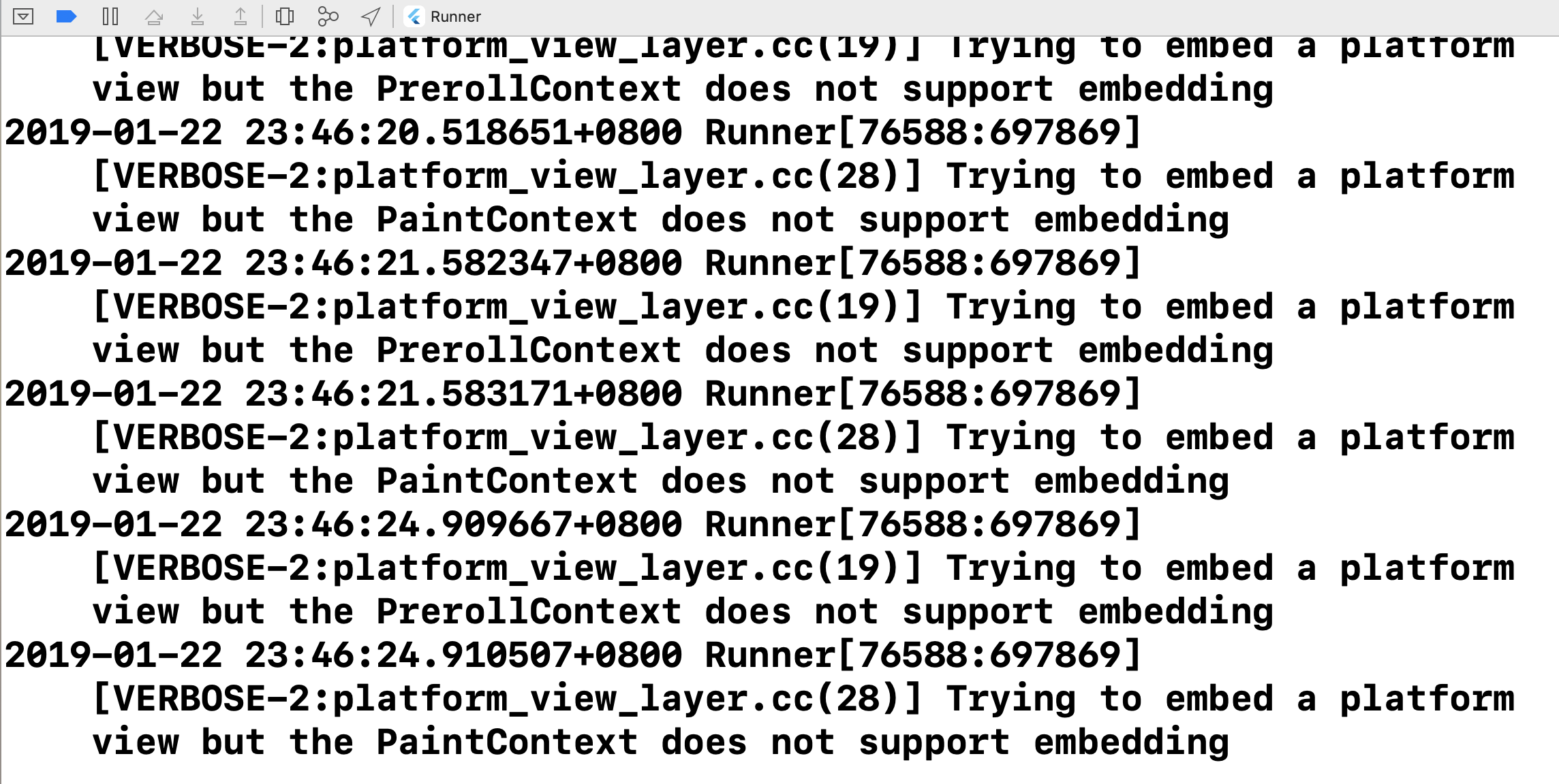 VERBOSE-2:platform_view_layer cc(28)] Trying to embed a