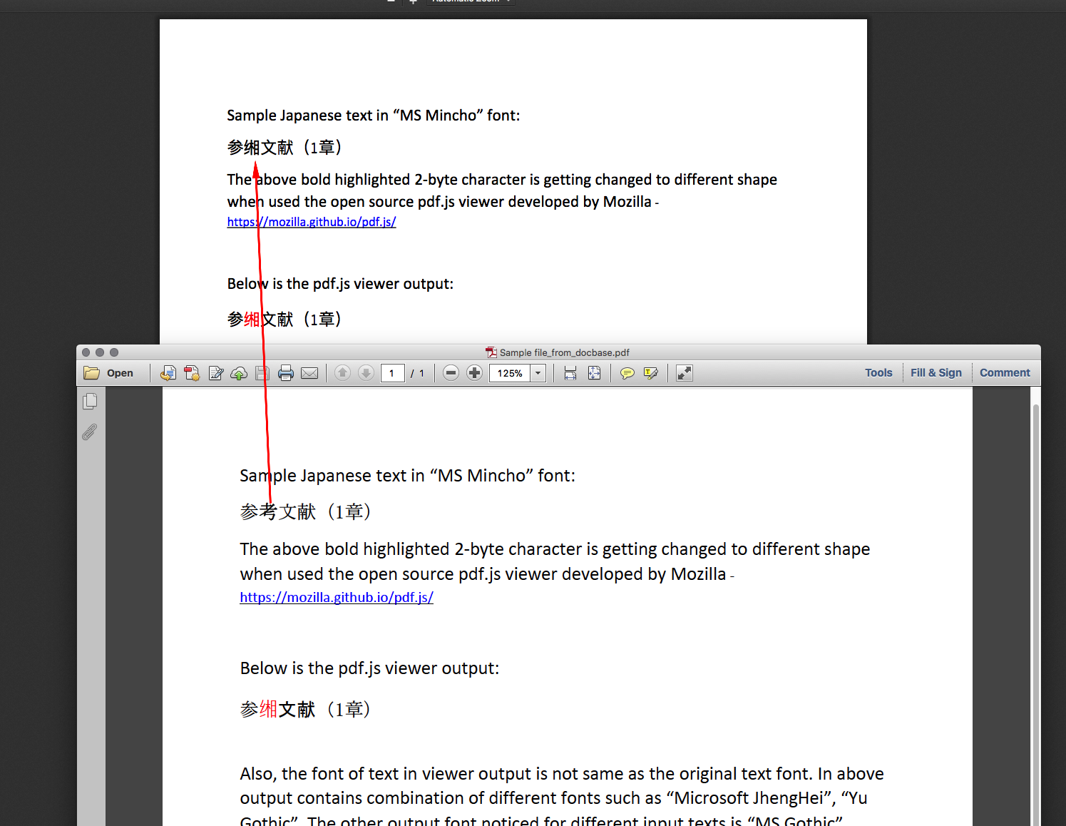 Japanese characters incorrectly rendered · Issue #9262 · mozilla/pdf