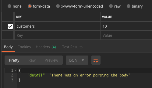 QUESTION] How to work with form data? · Issue #201 · tiangolo