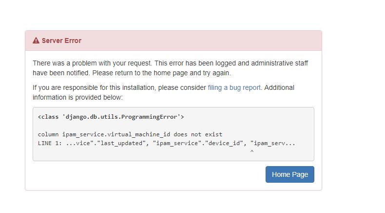 Upgrading Netbox - Error · Issue #1635 · netbox-community/netbox