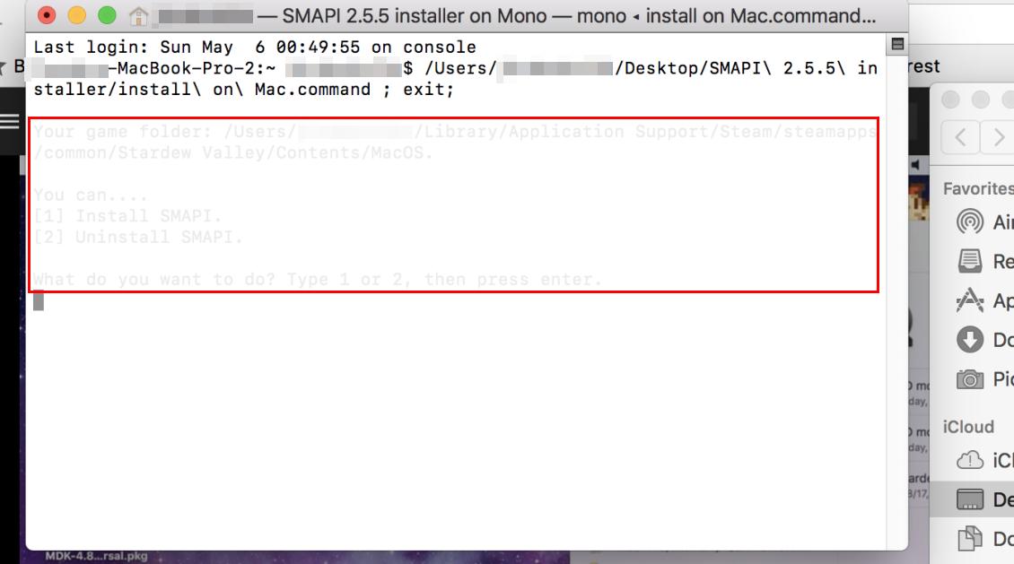 Improve installer readability on Mac · Issue #495 · Pathoschild