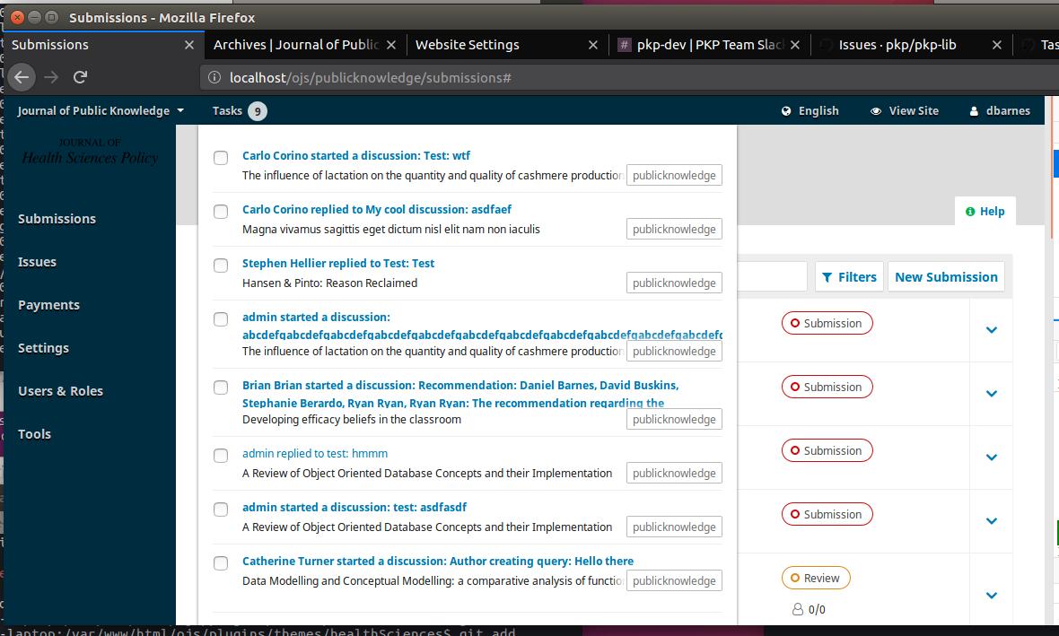 Task list shows too long · Issue #3447 · pkp/pkp-lib · GitHub