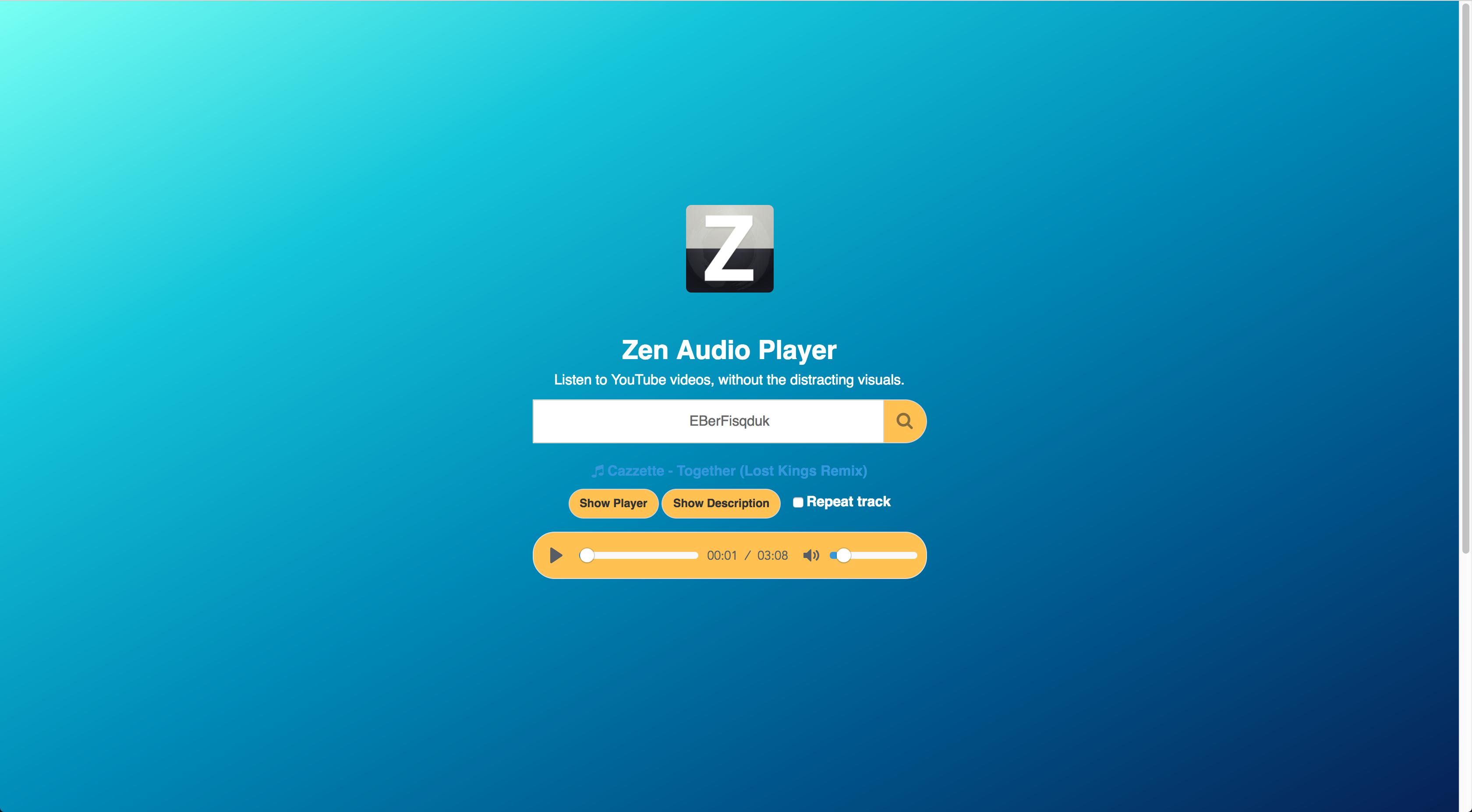zen audio player