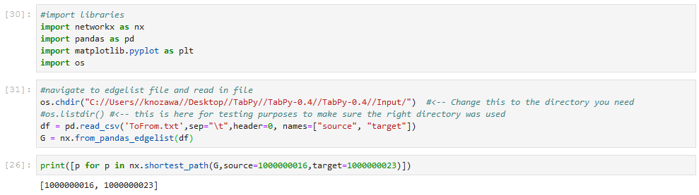 How to translate python script into TabPy · Issue #272 · tableau