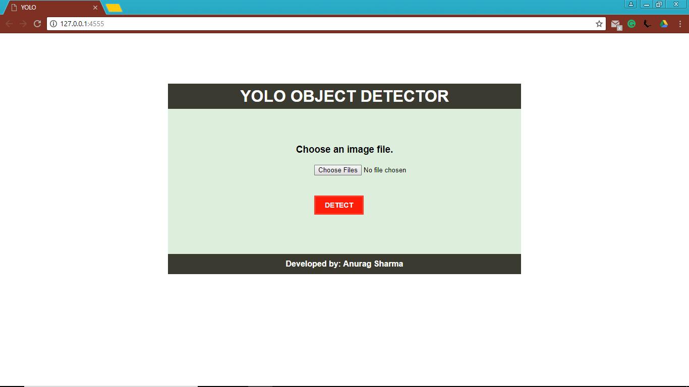 GitHub - Anurags2111/YOLO-Object-Detection
