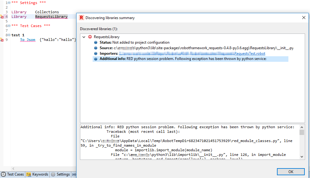 RequestsLibrary import error · Issue #206 · nokia/RED · GitHub