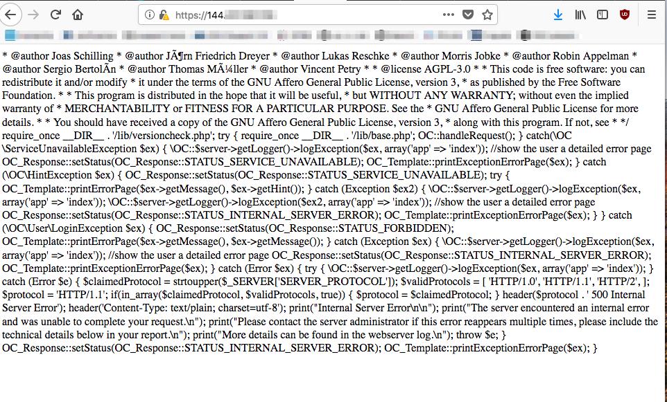 SSL script break PHP · Issue #622 · nextcloud/vm · GitHub