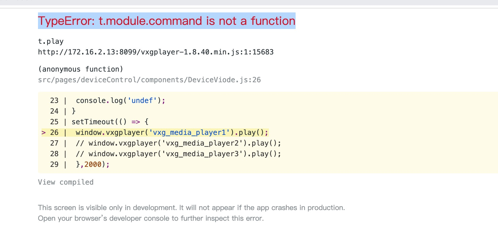TypeError: t module command is not a function · Issue #31
