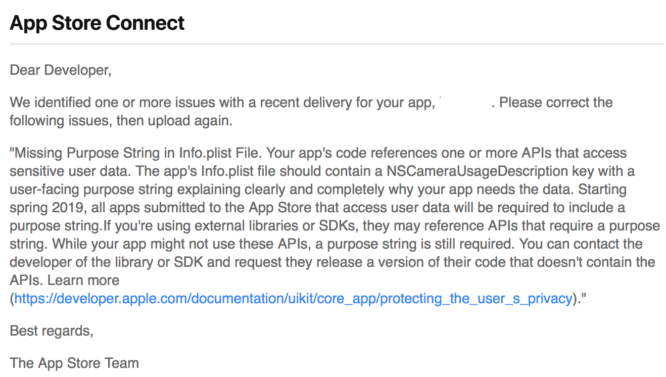 iOS SDK 3 0 0-preview2 uploads to App Store problem · Issue