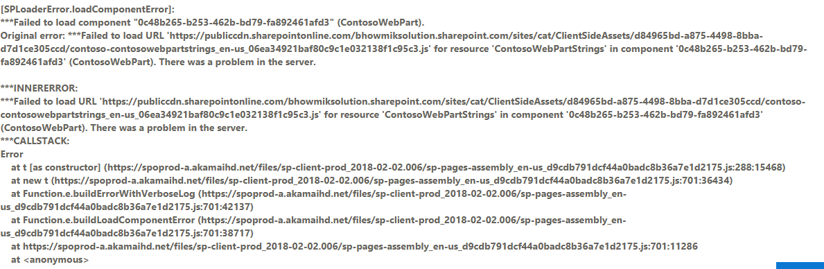 Hosting client-side web part from Office 365 CDN · Issue #1353