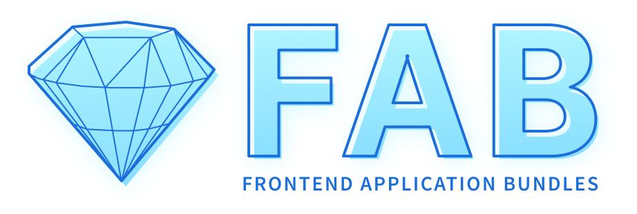 FAB Stencil Logo Wide