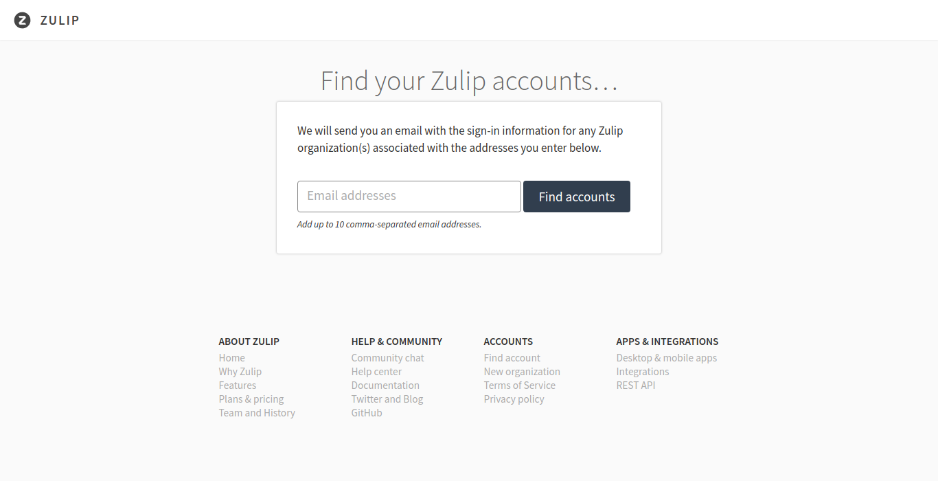 Add zulip info to readme / contributing md, tell everyone to