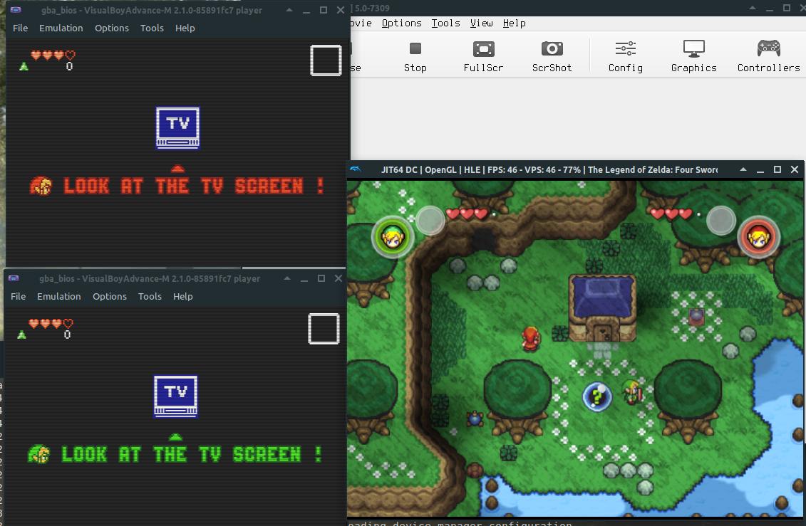 visualboyadvance emulator trade