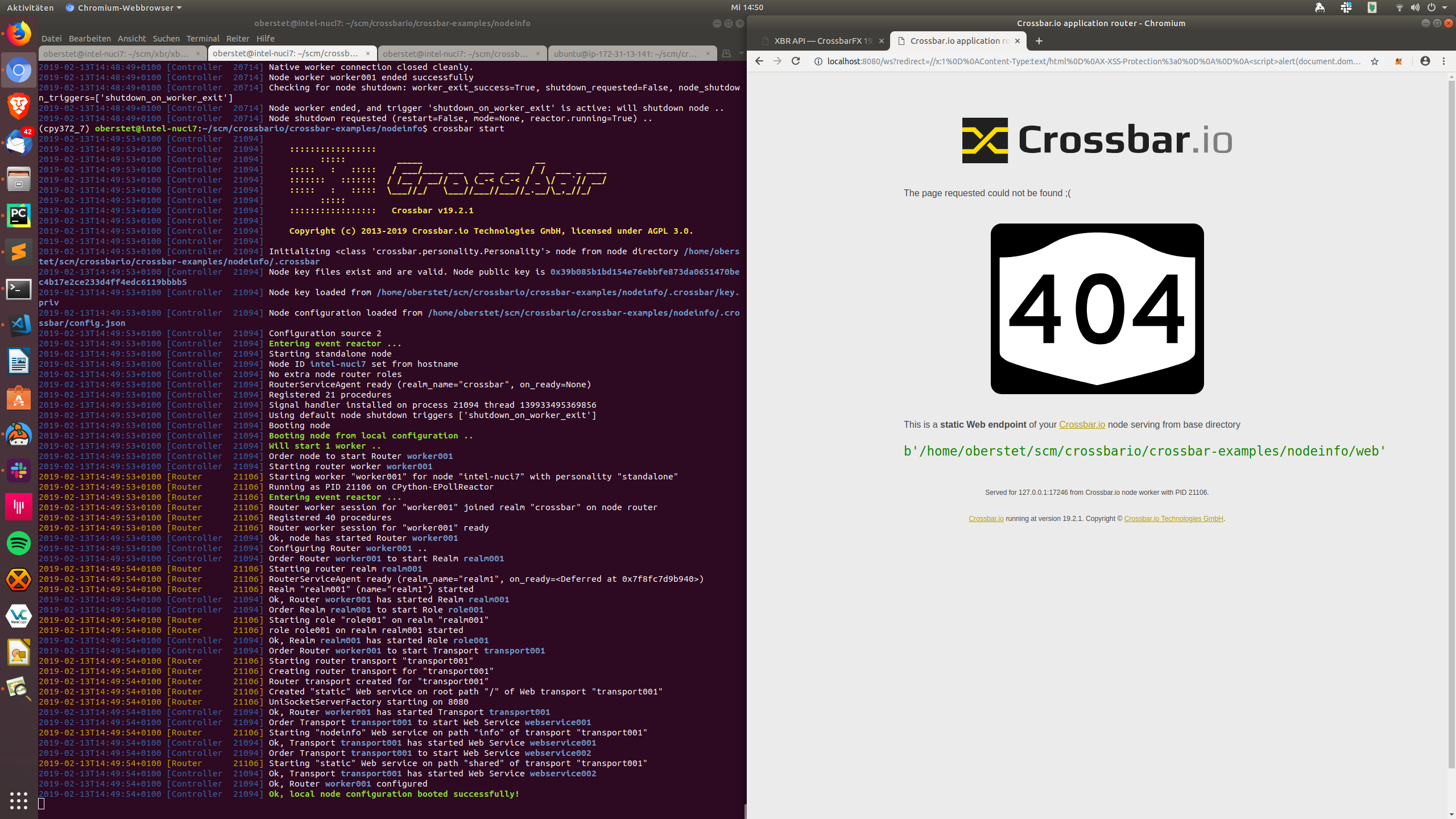 Check our redirecting web resource endpoints for XSS · Issue