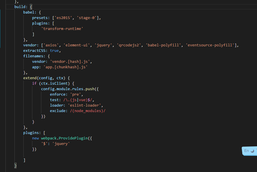 how to use babel-polyfill for entry · Question #c985 · Nuxt js