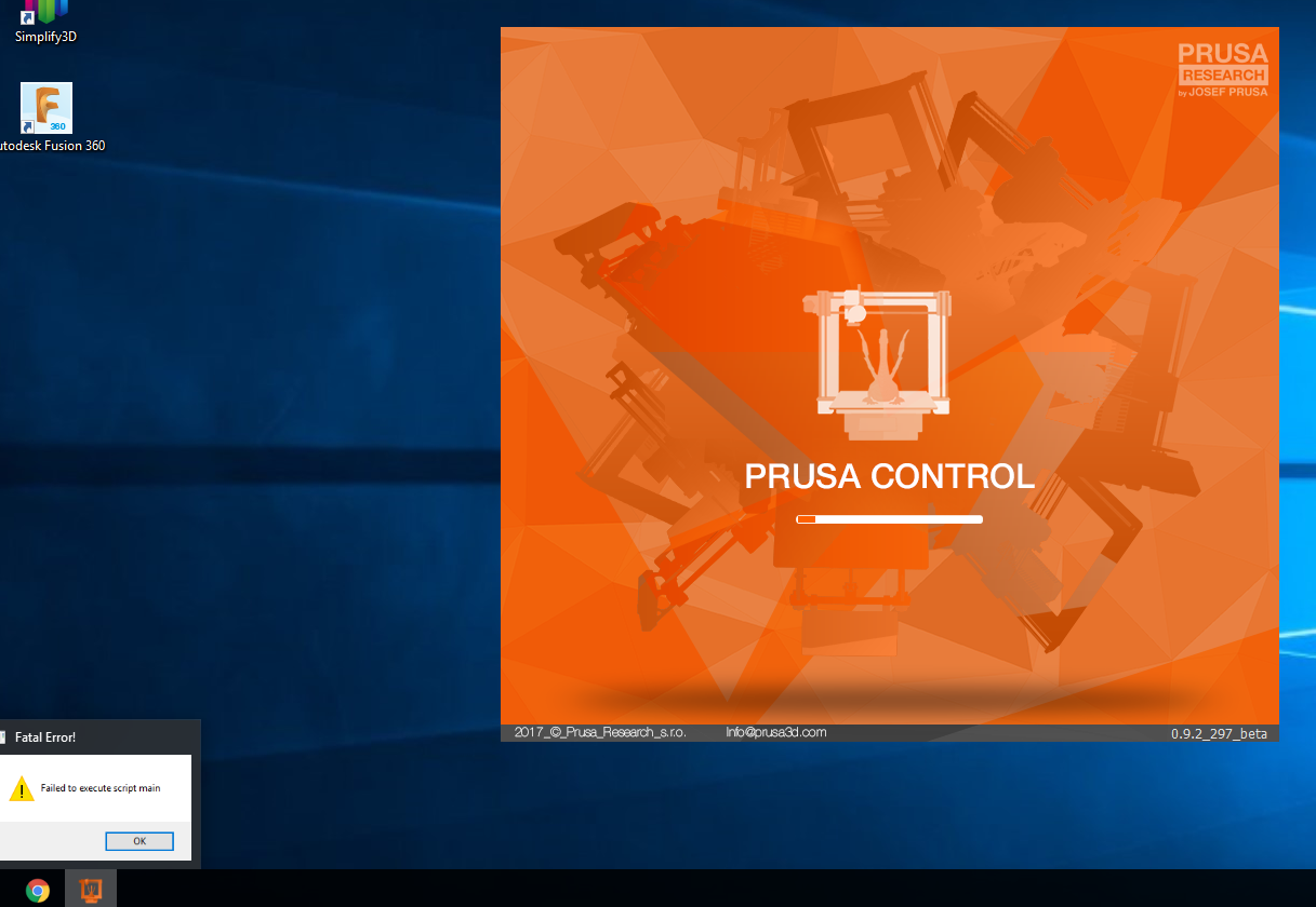PrusaControl doesn't start · Issue #9 · prusa3d/PrusaControl