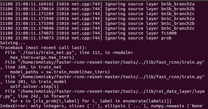 Developers - Py-Faster-Rcnn using Resnet -