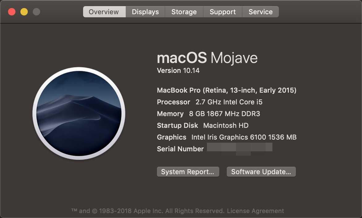 Preferences Error, There was an error in Desktop & Screen