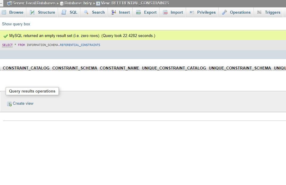 Database restore: The execution failed  Please check error