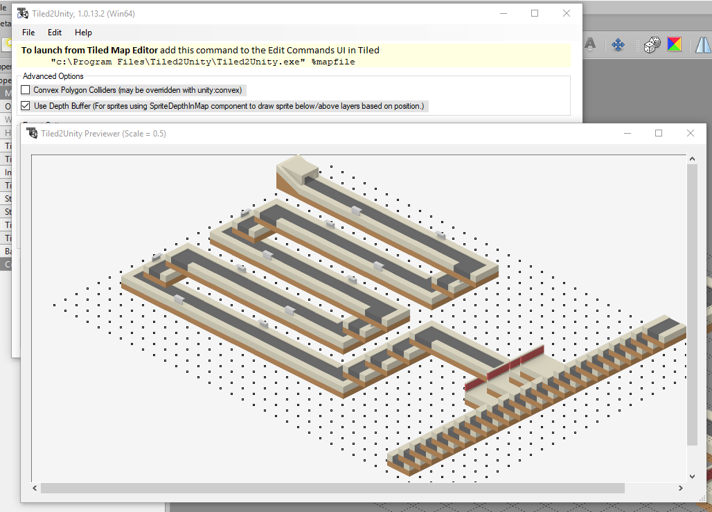 Isometric Map exporting the tiles in wrong rendering order