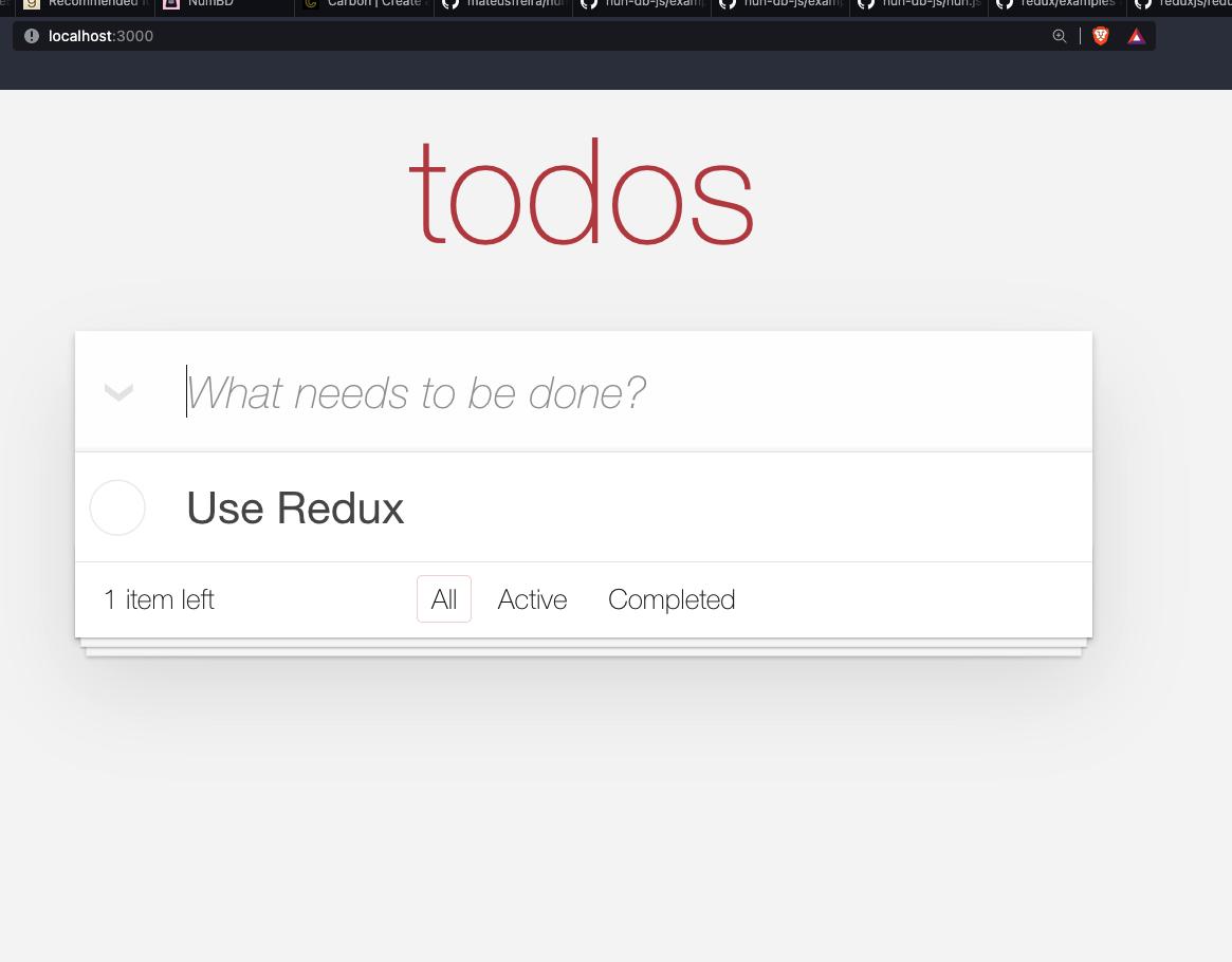 App running