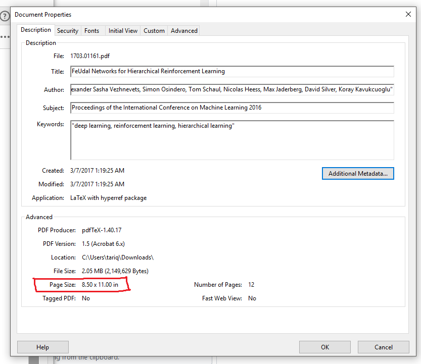 Call to getMetadata returns only parts of metadata when performed