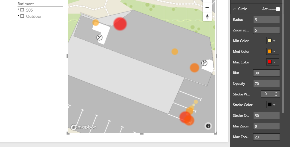 Color Heatmap by aggregated measure value · Issue #104 · mapbox