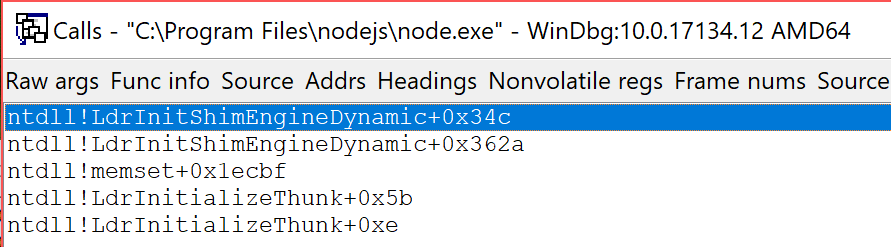 Feature request] [Windows] Unable to run Node js in safe mode