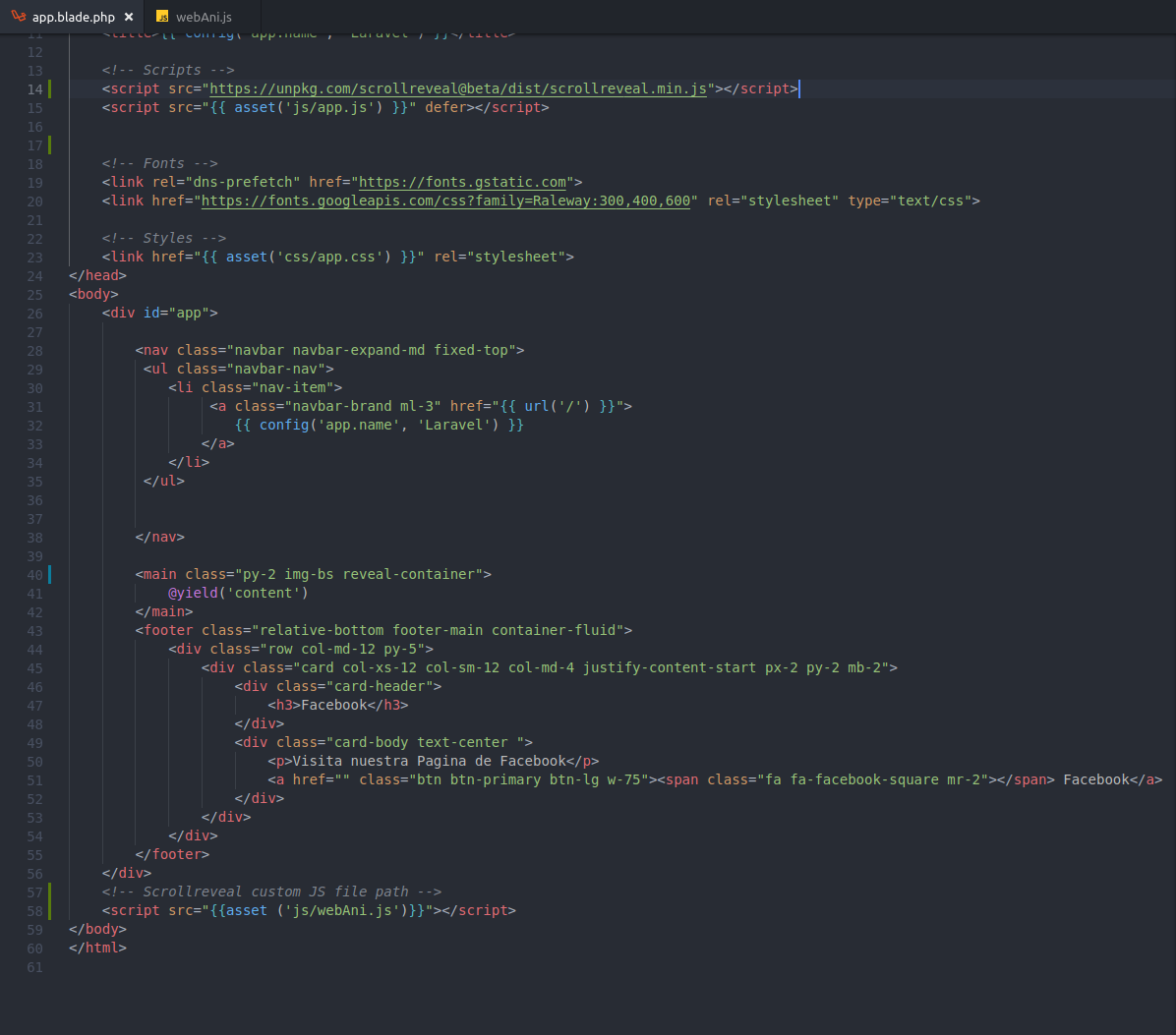 Using ScrollReveal with Laravel? · Issue #447 · scrollreveal