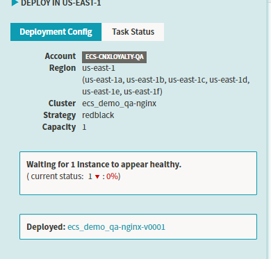 Aws Ecs Container Status Unhealthy In Deploy Stage Issue 2912 Spinnaker Spinnaker Github