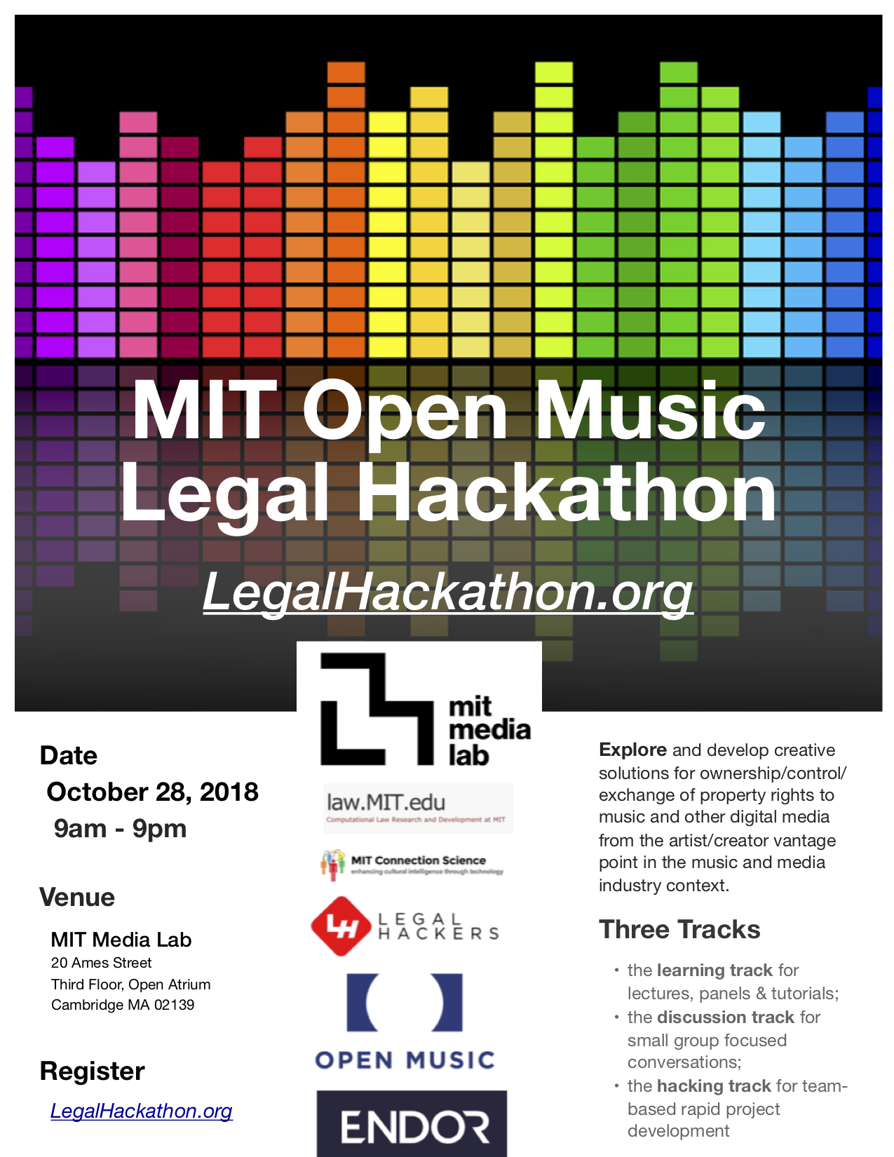 OpenMediaLegalHack | #hack4music at MIT Media Lab