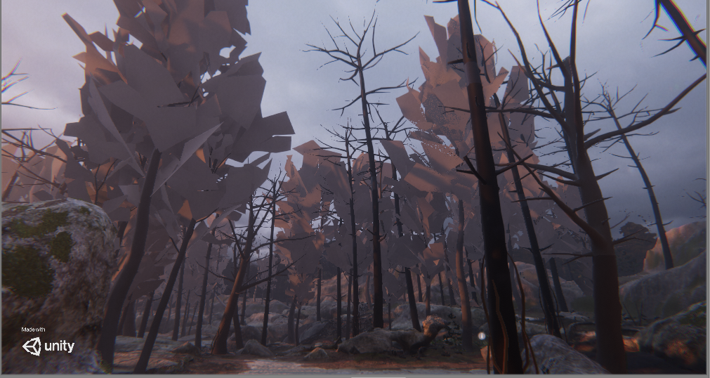 Foliage assets render wrong after project import · Issue #6