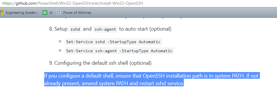 Unable to establish SFTP connection, SSH connection works