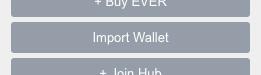 Screenshot Import Wallet