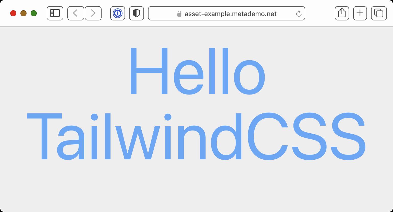 Hello TailwindCSS Demo Page
